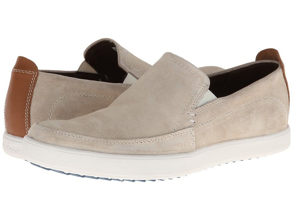 Hush Puppies - Roadside Slip On MT (Salt Suede) Men's Slip on Shoes