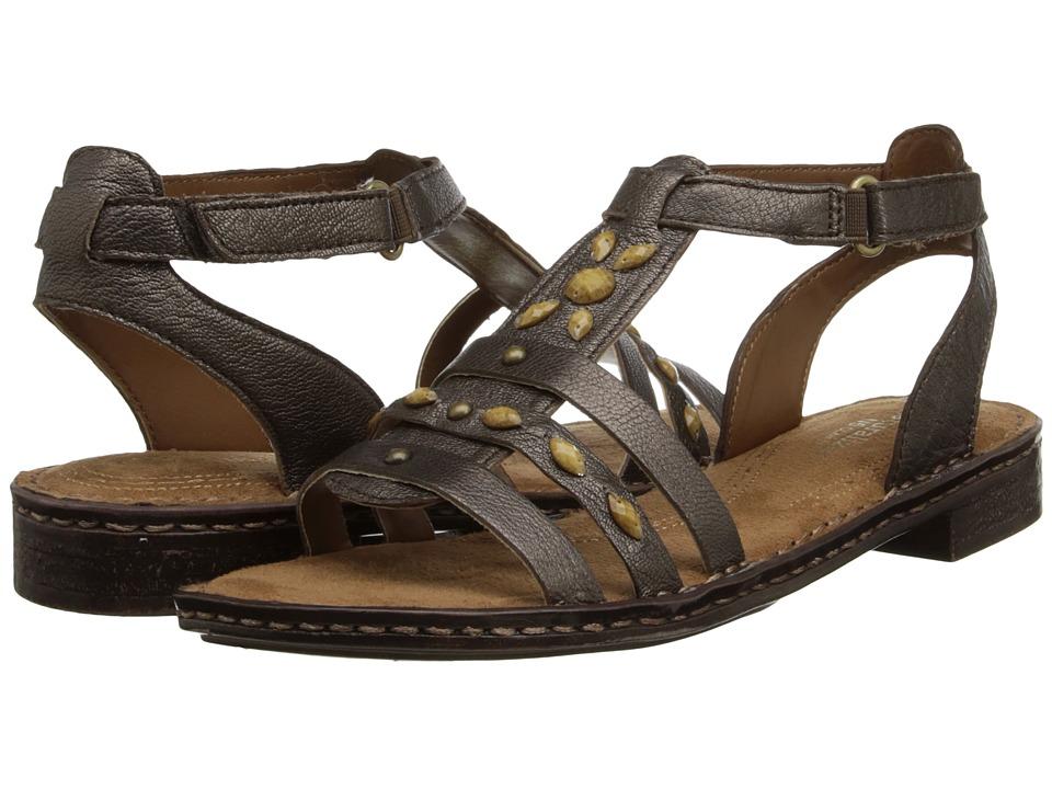Naturalizer - Rhapsody (Dark Brown Bronze Metallic) Women's Sandals