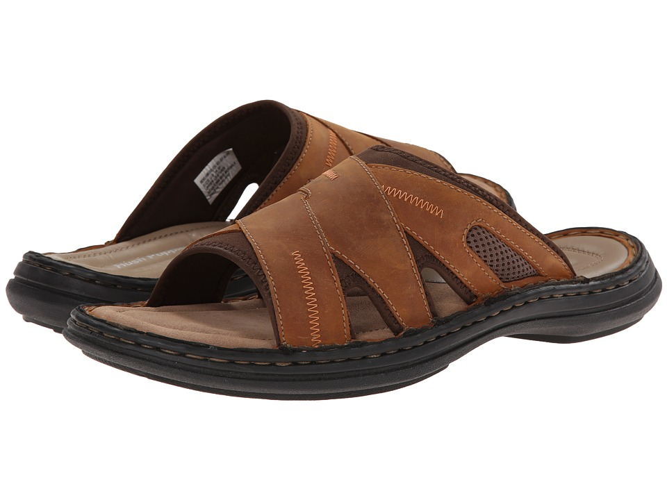 Hush Puppies - Relief Slide (Copper Leather) Men