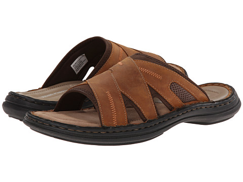 Hush Puppies - Relief Slide (Copper Leather) Men's Sandals