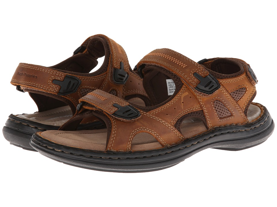Hush Puppies - Relief Rafting (Copper Leather) Men's Sandals