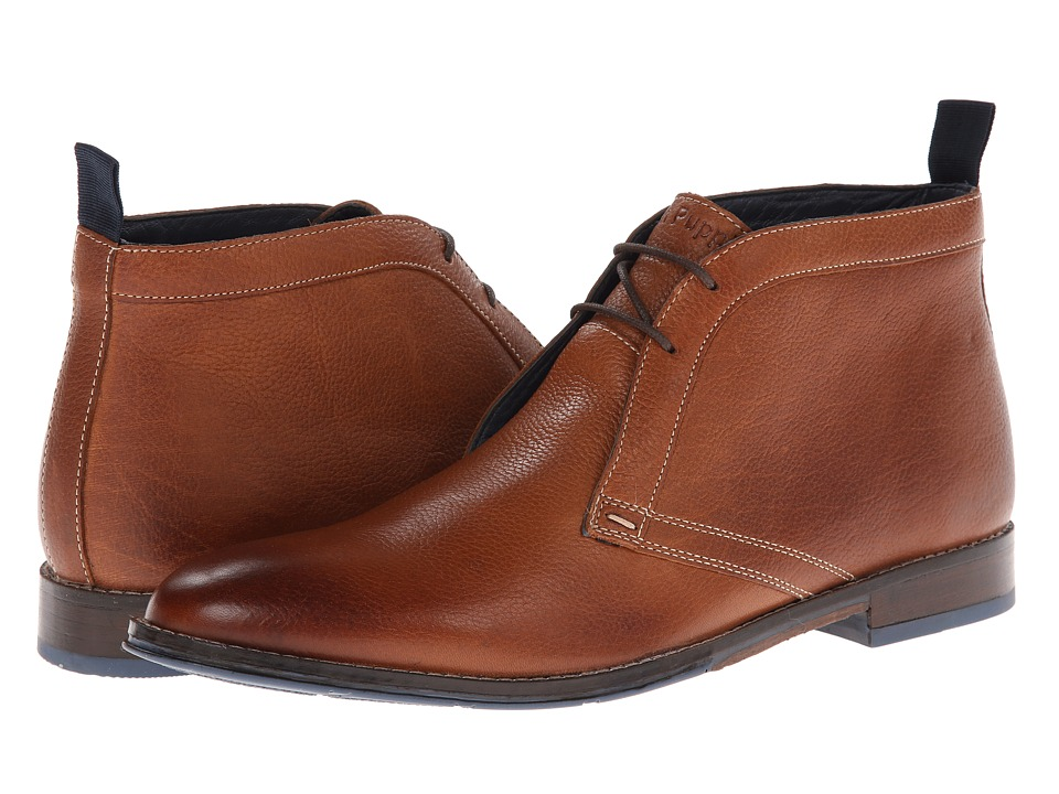 Hush Puppies - Style Chukka PL (Tan Leather) Men
