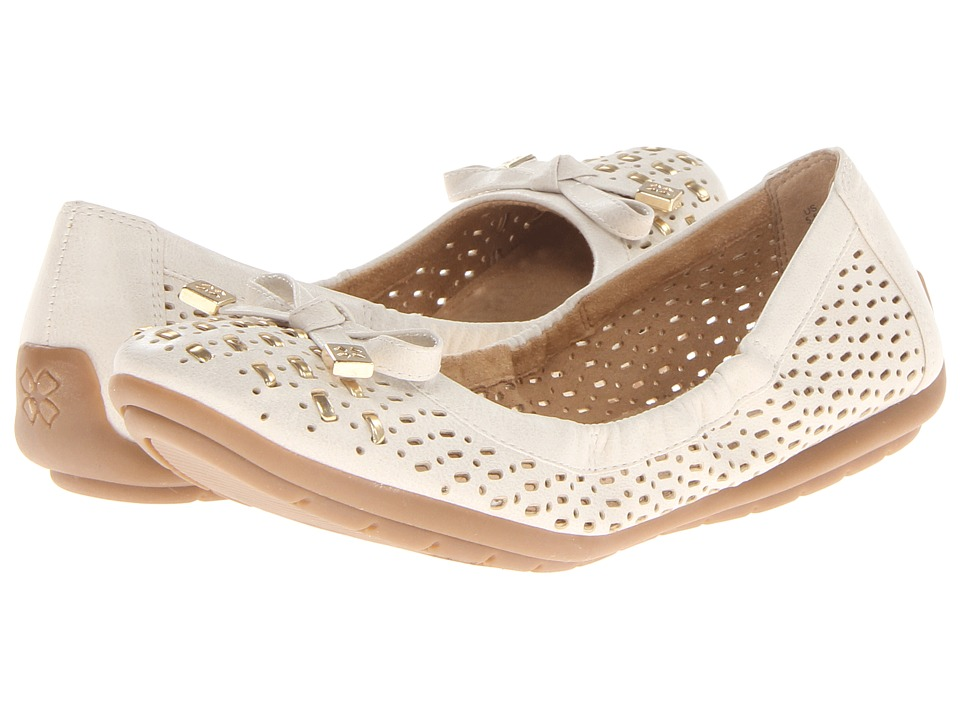 Naturalizer - Ulysses (Pale Ivory/Gold Smooth) Women