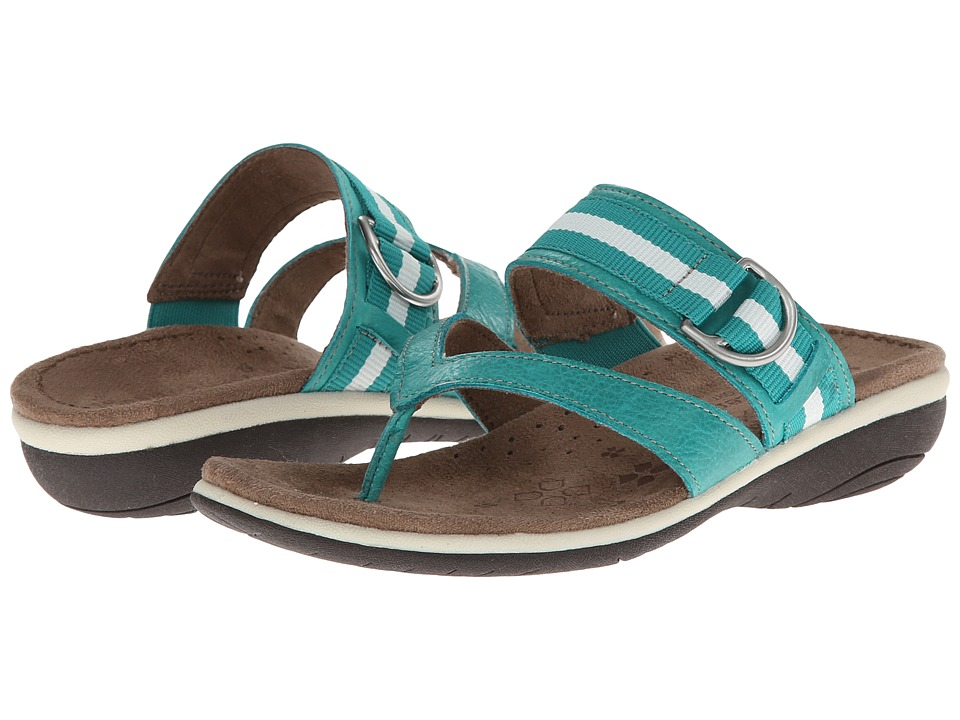 Naturalizer - Vail (Turquoise Time Leather) Women's Sandals