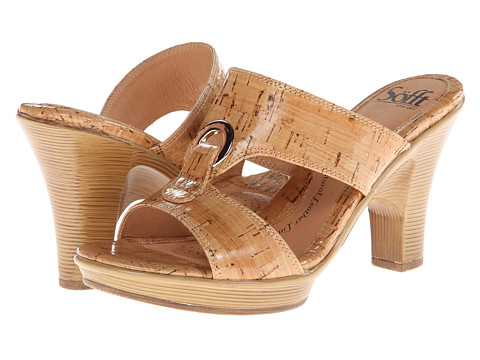 Sofft - Patrice (Natural Laminated Cork) High Heels