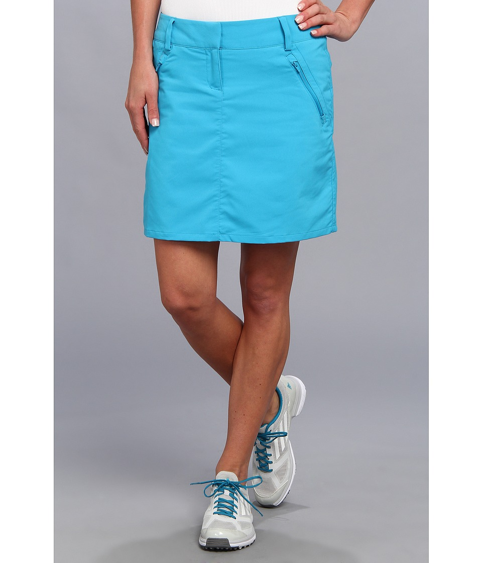 adidas Golf - CLIMACOOL Pocket Skort ' 14 (Solar Blue/White) Women's Skort