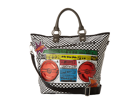 George Gina & Lucy - Carry Over Printmania (The Ghetto Blaster) Tote Handbags