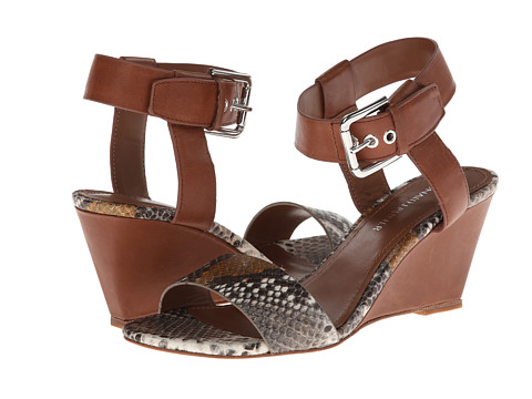 Donald J Pliner - Paras (Cognac Multi Snake) Women's Wedge Shoes