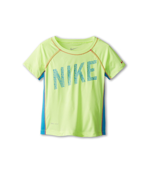 Nike Kids - Hyper Speed Dri-FIT Top (Little Kids) (Volt Ice) Girl's T Shirt