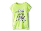 Nike Kids Run the Future Tee (Little Kids) (Volt Ice)
