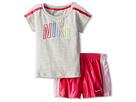 Nike Kids New N40 Short Set (Toddler) (Vivid Pink)