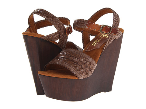 Sbicca - La Palma (Brown) Women's Wedge Shoes