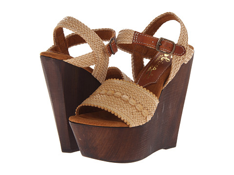 Sbicca - La Palma (Natural) Women's Wedge Shoes