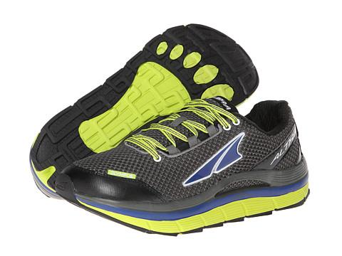 Altra Zero Drop Footwear Olympus (Gunmetal/Lime/Mazarine Blue) Men's Running Shoes
