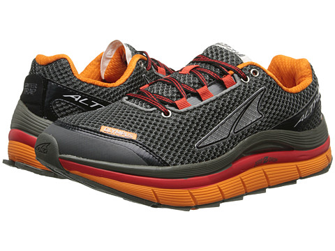 Altra Zero Drop Footwear Olympus (Gunmetal/Fiery Red/Orange Peel) Men's Running Shoes