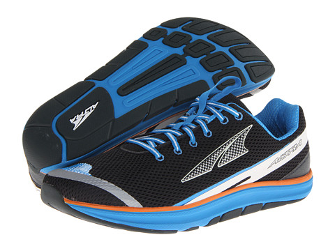Altra Zero Drop Footwear - Torin 1.5 (Black/Brilliant Blue) Men's Running Shoes