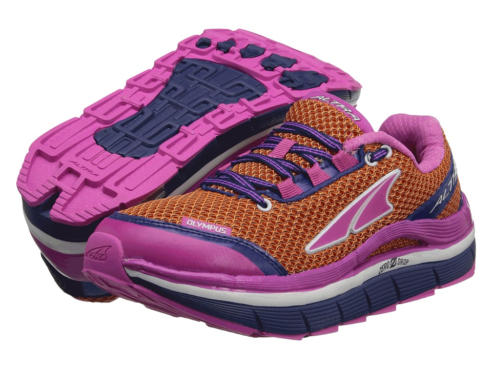 Altra Zero Drop Footwear - Olympus (Orange Peel/Pink Glo) Women's Running Shoes
