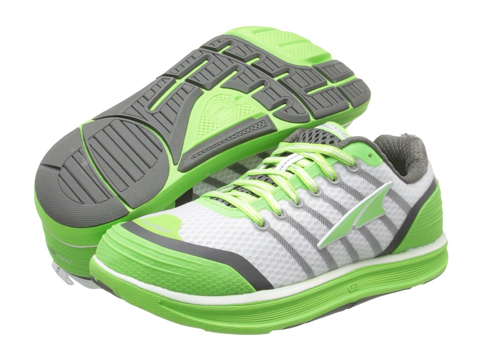 Altra Zero Drop Footwear - Intuition 2 (Jasmine Green/White) Women's Running Shoes