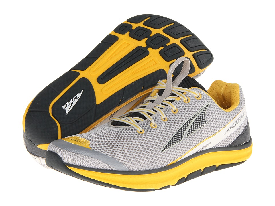 Altra Zero Drop Footwear - Torin 1.5 (Gray/Lemon Chrome) Men's Running Shoes