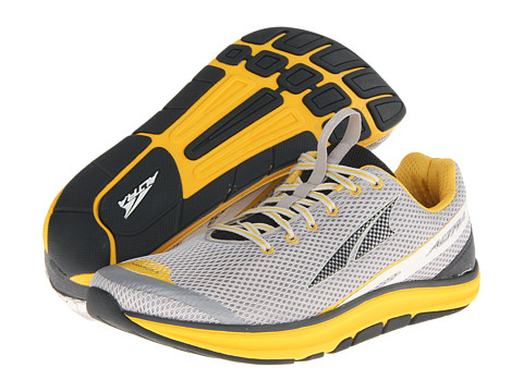 Altra Zero Drop Footwear - Torin 1.5 (Gray/Lemon Chrome) Men's Running Shoes