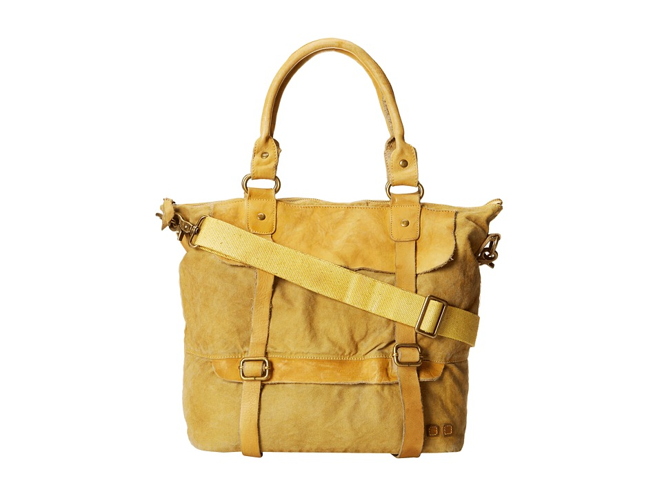 Bed Stu - Cascade (Yellow Washed) Tote Handbags