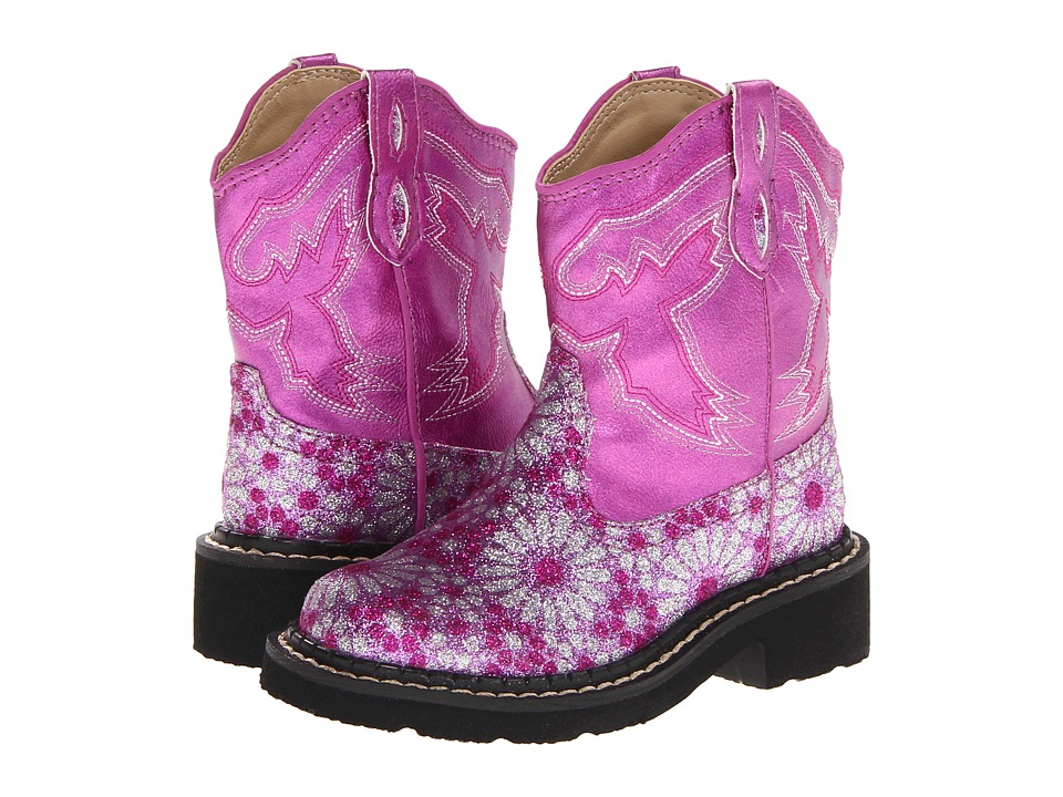 Roper Kids - Bling Chunks (Toddler/Little Kid) (Pink) Cowboy Boots