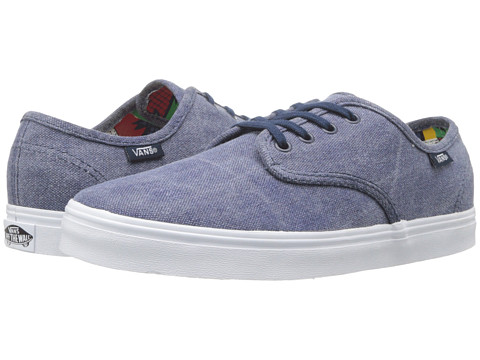 Vans - Madero ((Washed) Blue/80's Box) Skate Shoes