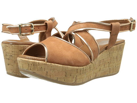 Cordani - Denton (Chesnut Suede) Women's Wedge Shoes