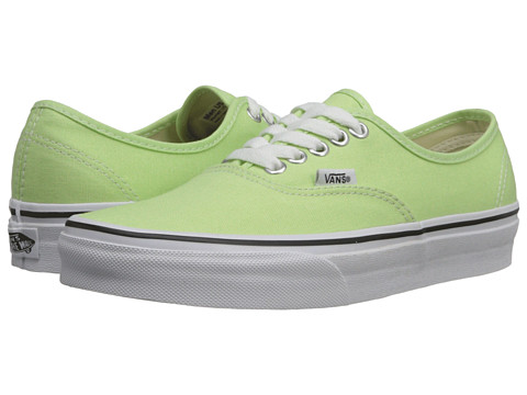 Vans - Authentic (Paradise Green/True White) Skate Shoes