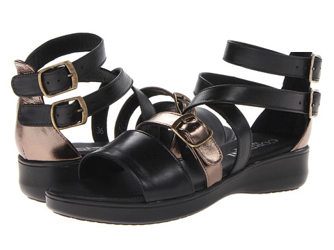 Cordani - Jurelle (Black/Bronze) Women's Sandals
