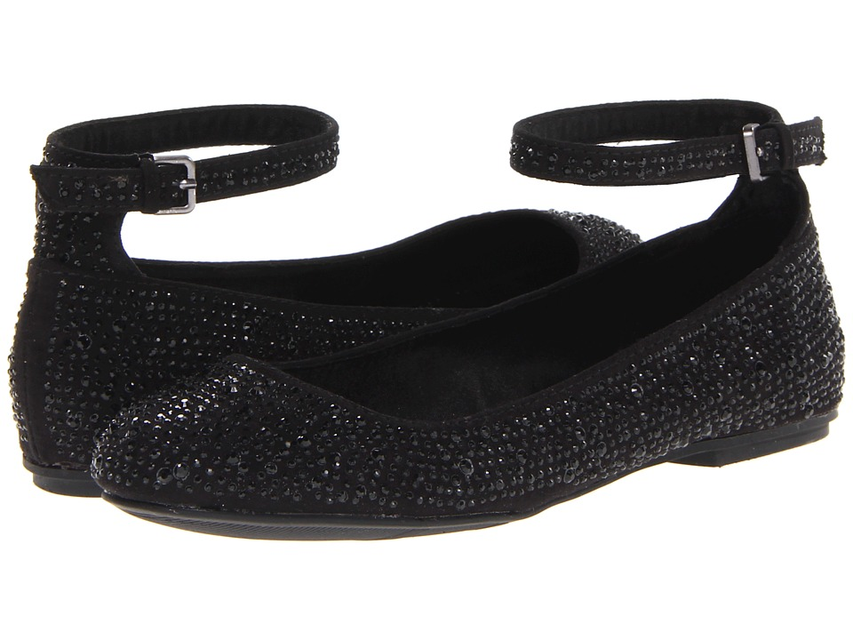 MIA - Coronna (Black Nova Suede) Women's Flat Shoes