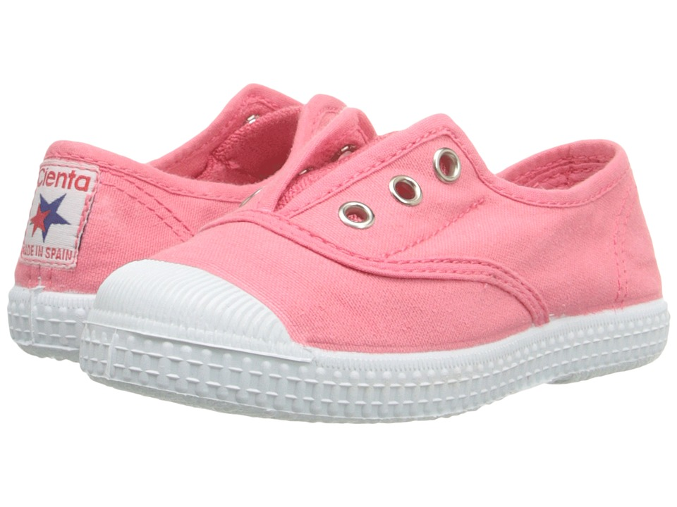 Cienta Kids Shoes - 70997 (Toddler/Little Kid/Big Kid) (Pink) Girls Shoes