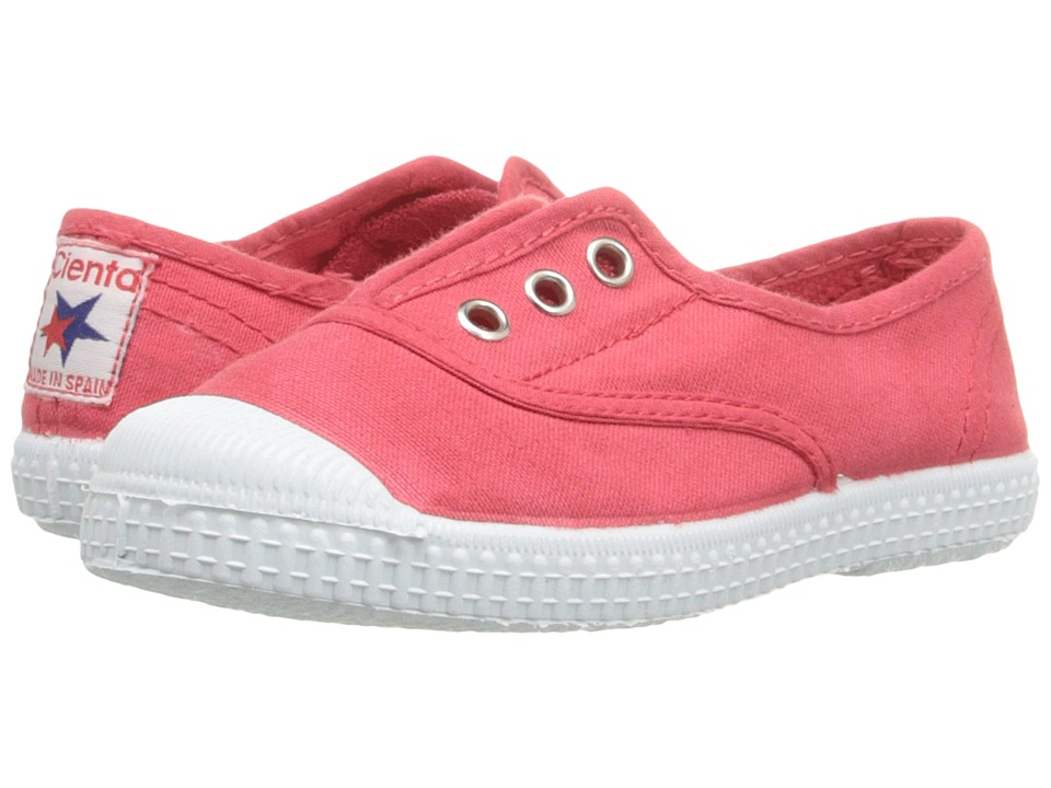 Cienta Kids Shoes - 70997 (Toddler/Little Kid/Big Kid) (Coral) Girls Shoes