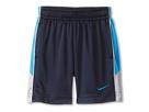 Nike Kids Aceler 8 Short (Toddler) (Obsidian and Blue)