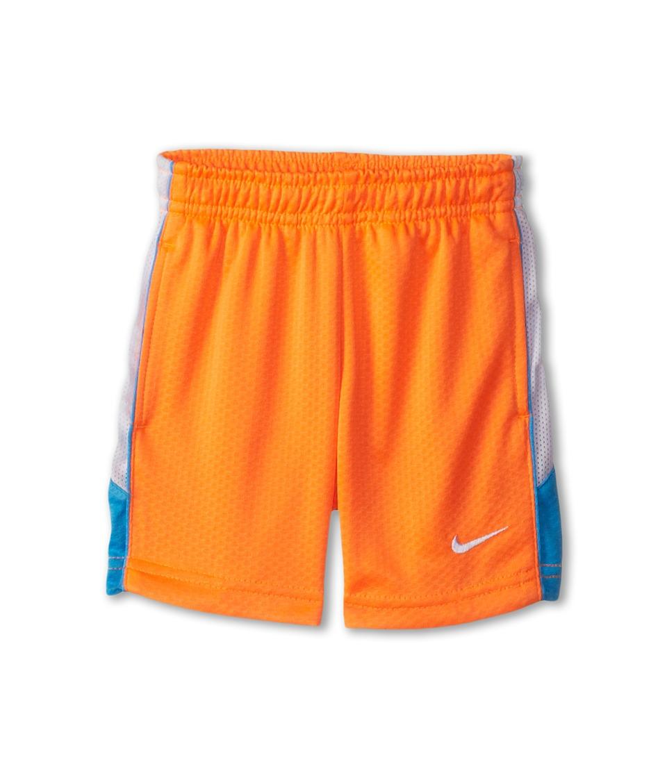 Nike Kids - Aceler 8 Short (Toddler) (Total Orange) Boy's Shorts