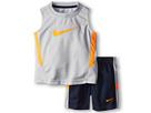 Nike Kids Swoosh Muscle Set (Toddler) (Obsidian w Grey)