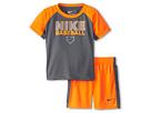 Nike Kids Nike Baseball Raglan Short Set (Toddler) (Total Orange)