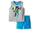 Nike Kids JDI Muscle Set (Toddler) (Vivid Blue)