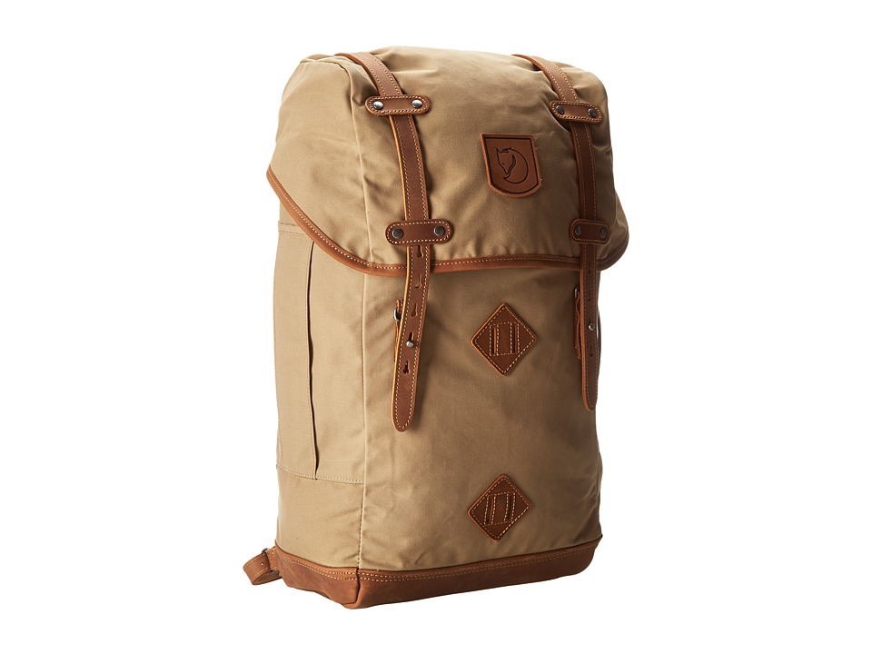Fjallraven - Rucksack No. 21 Large (Sand) Backpack Bags