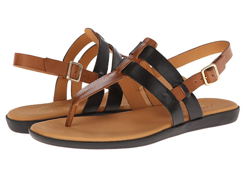Kork-Ease - Amara (Black/Avana) Women's Sandals