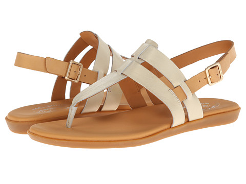 Kork-Ease - Amara (Bianco Metallic) Women's Sandals