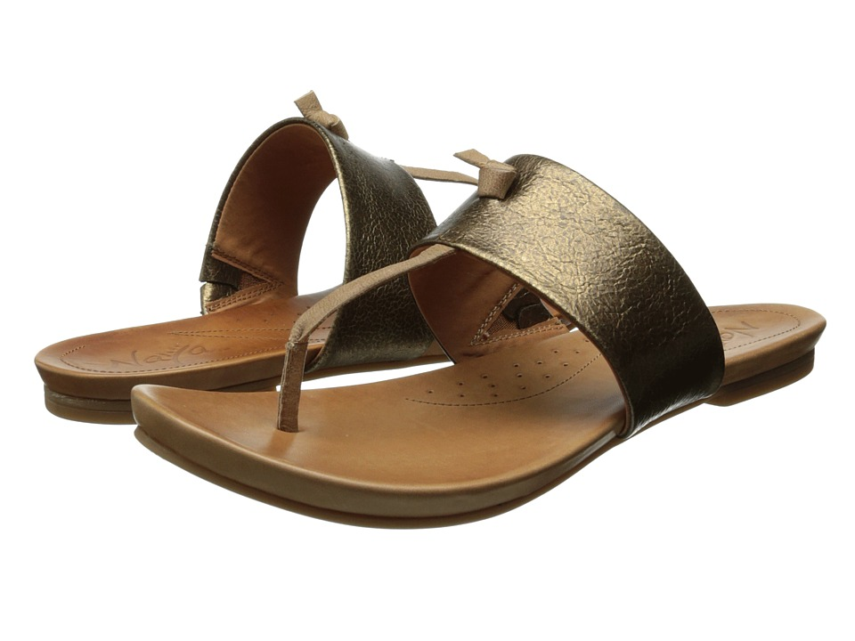 Naya - Crescent (Bronze Metallic/Corda Tan Leather) Women