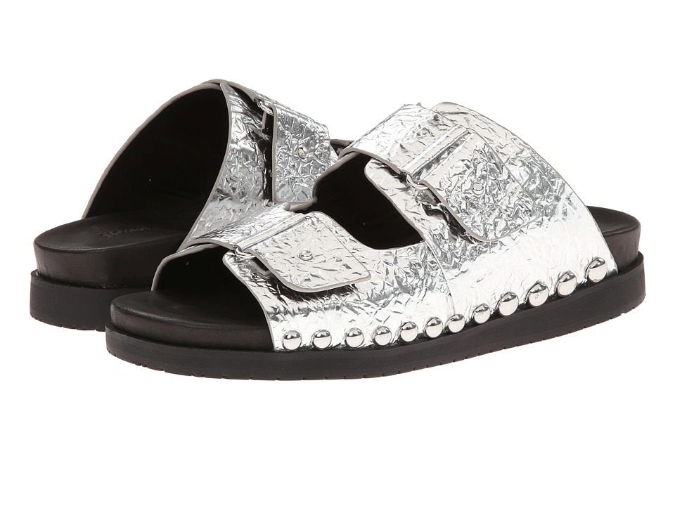 Gentle Souls - Skip Rock (Silver) Women's Sandals