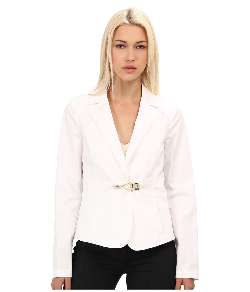 Armani Jeans - Blazer w/ Nautical Rope Closure (White) Women
