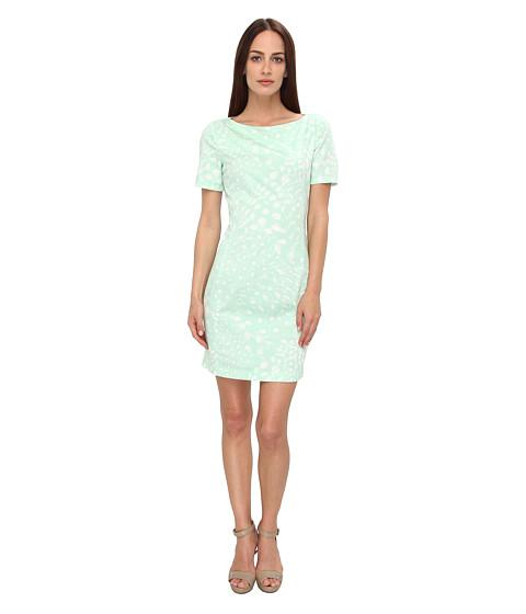 Armani Jeans - S/S Green Tie Dye Print Dress (Green) Women