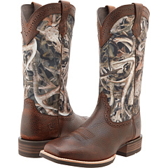 Quickdraw (Brown Oiled Rowdy/Mini Bonz) Cowboy Boots