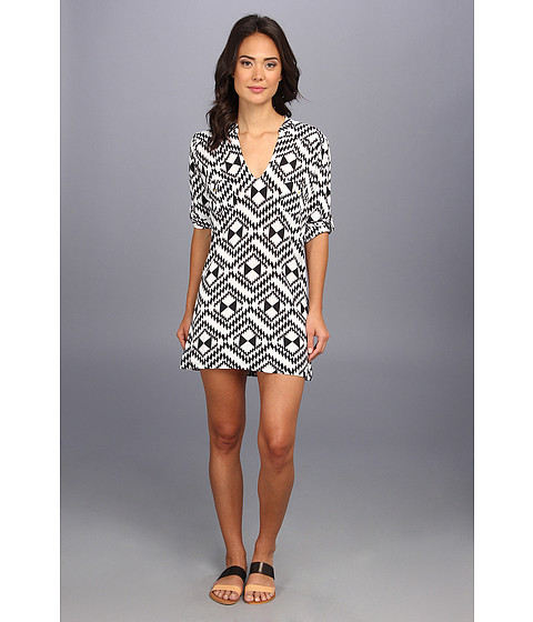 Tbags Los Angeles - Tunic Dress w/ Two Chest Pockets (VE7) Women
