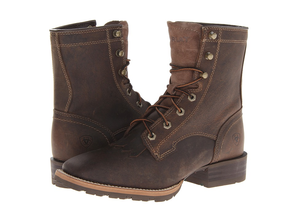 Ariat - Hybrid Lacer WST (Distressed Brown) Men
