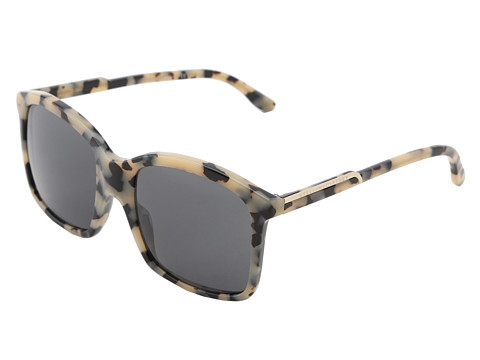 Stella McCartney - SM-4046 (Grey Spotty Tortoise/Black) Fashion Sunglasses