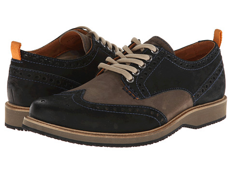Tommy Bahama - Elliot (Navy/Grey) Men's Lace up casual Shoes